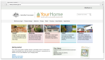 yourhome.gov.au website's screenshot