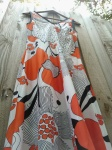 Norman Hartnell dress from 1960s-1970s $75