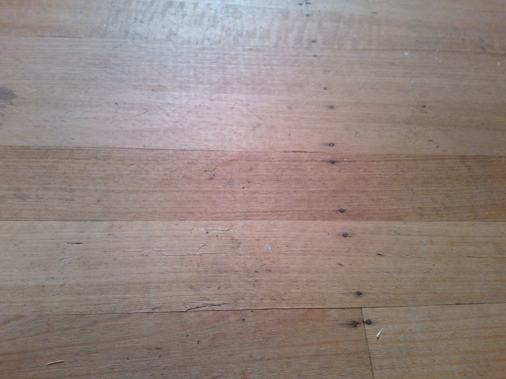 hardwood floors (untreated)